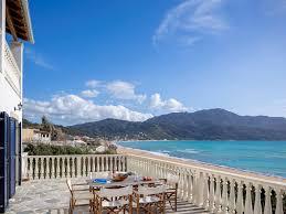 beach house with stunning sea views on a dream sandy beach
