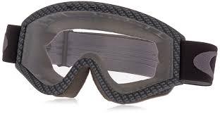 oakley motocross goggle lenses amazon com oakley l frame graphic frame mx goggles carbon fiber
