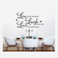 online get cheap 50 words aliexpress com alibaba group 50 70cm english words wall stickers live laugh love removable vinyl wall decals home living room mural art
