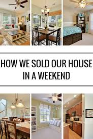 how we sold our house in a weekend scene house and real estate