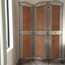 Rattan Room Divider Wrought Iron Room Dividers Home Design U0026 Architecture Cilif Com