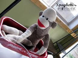 spaghetti westerner free printables sock monkey first birthday