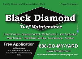 Black Diamond Landscaping by Diamond Pest Control