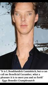 Cumberbatch Meme - beneficial cucumber benedict cumberbatch know your meme