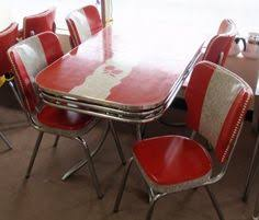 Kitchen Tables And More by Melissa Diy Refinishes And Reupholsters Her 1950s Dinette And
