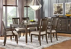 Cindy Crawford Home Michigan Avenue Brown  Pc Rectangle Dining - Dining room furniture michigan