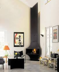 living room electric insert fireplace vase and flowers decor