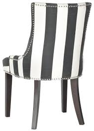 Black And White Striped Chair by Mcr4709ar Set2 Dining Chairs Furniture By Safavieh