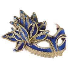blue masquerade masks blue venetian masquerade mask