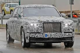 wrapped rolls royce next gen rolls royce phantom spotted by car magazine
