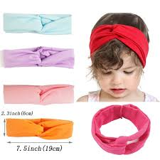 headbands for babies aliexpress buy solid cross twisted cotton turban headband