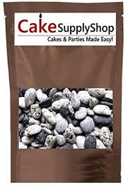 edible rocks sea side rocks for cake decoration and candy buffets 8oz