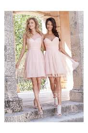 pink bridesmaid dresses pink knee length tulle rustic bridesmaid dress