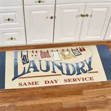 laundry room mats touch of class