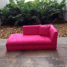 Kids Chaise Lounge Bambina Kids Chaise Lounge Bubblegum Pink 129 00 Kids