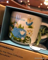 mug ornament spotted starbucks 2017 disney parks mug and magic kingdom