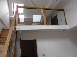 Stair Banister Glass Contemporary Oak Townsend Staircase Glass Balustrade High