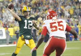 aaron rodgers throws 5 td passes in packers win chiefs ny
