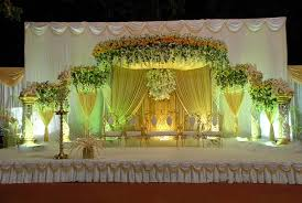 Sunshine Drapery Reception Stage At Narayana Lawns U0026 Banquets Mumbai Sunshine