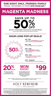 holt renfrew s magenta madness sale most tempting in canada flare