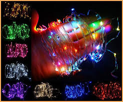 cheap multicolor rgb pink 10m 100 led copper wire garden led
