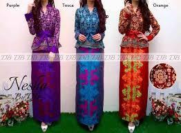 desain baju batik halus baju kebaya modern motif songket halus p 599 busana batik motif peplum