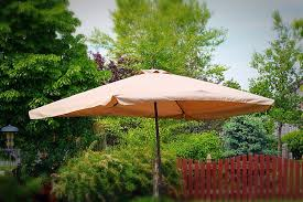 Umbrella Pole Extender by Amazon Com Rectangle Outdoor Patio Umbrella Java Rectangular