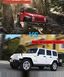 jeep rubicon offroad jeep wrangler u2013 rubicon vs sahara u2013 jeep wrangler rubicon vs sahara