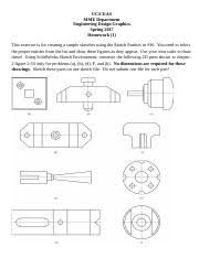 hw 2 sw sketch tools exer uc ceas mme department engineering