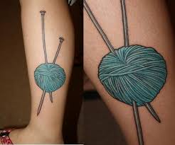 60 best knitting tattoos