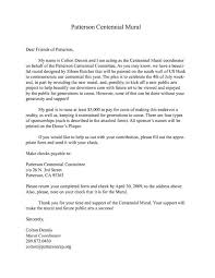 sponsorship donation letter get scholarship grants and fundraising