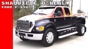 Ford 650 Price Shaquille O U0027neal Buys Ford F 650 Xlt Super Duty Truck Youtube