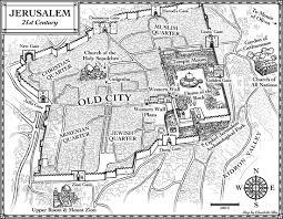 New Testament Map New Maps U2013 Jerusalem In 4 Bc And 21st Century Elisabeth Alba