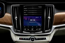 nissan leaf android auto volvo 90 series updated with android auto connected car features