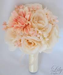 Fake Wedding Flowers 31 Best Dyi Silk Wedding Bouquets Images On Pinterest Silk