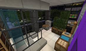 minecraft house interior design