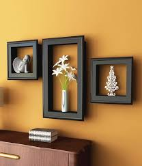 home interior picture frames adeco 10 opening wooden wall collage photo picture frames black