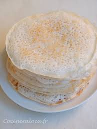 cuisine indienne riz cuisine indienne du kerala kallappam crêpes à la farine de riz et