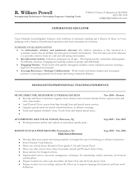 Sample First Year Teacher Resume by Elementary Teacher Resume Downloadable Teaching Resume