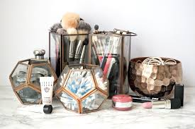 Bathroom Vanity With Makeup Counter by Rose Gold Makeup Storage Innovative U0026 Quirky Ways To Hold Your