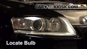 audi a4 headlight bulb replacement headlight change 2005 2011 audi a6 2008 audi a6 3 2l v6