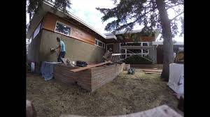 modern bungalow reno in calgary youtube
