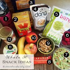 whole30 snack ideas and mini meals for on the go to help keep you