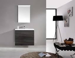 Bathroom Vanity Wood by Bogetta 900mm Sonoma Oak Grey Pvc Thermal Foil Timber Wood Grain