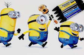 minions drawing despicable