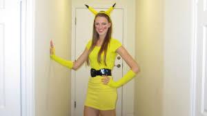 Pikachu Costume Halloween Tutorial How To Make A Pikachu Costume Youtube