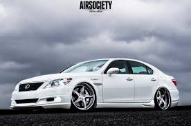 bagged lexus gs300 white cajun long mai u0027s lexus ls460 airsociety