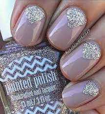 easy nail art glitter 18 chic nail designs for short nails chic nail designs short