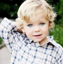 Toddler Boy Haircuts For Curly Hair Blonde Haired Boy Jesus Loves The Little Children All The