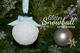 glitter snowball ornaments stitch and pink